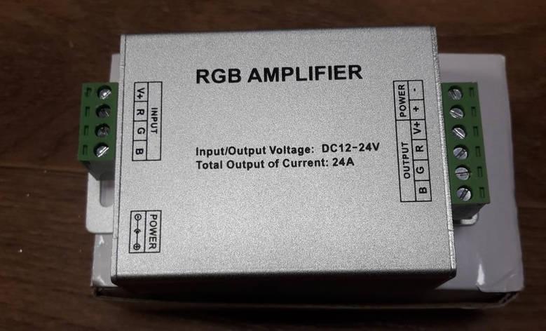Усилитель светодиодной RGB ленты OEM AMP24А m, фото 2