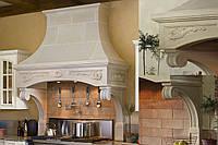 Кухонная вытяжка из мрамора