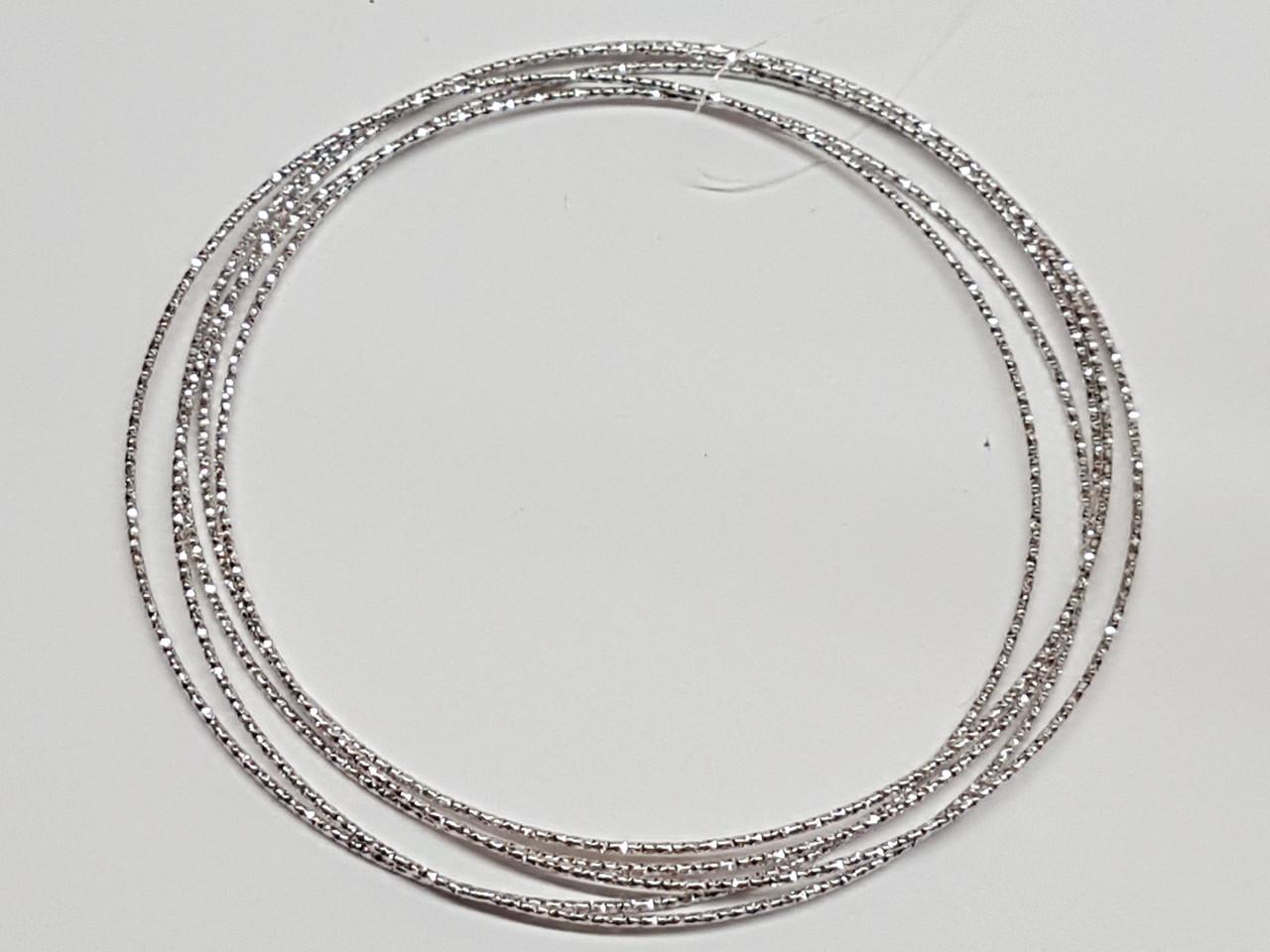 Серебряный жесткий браслет. Артикул 905-0412BR