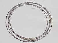 Серебряный жесткий браслет. Артикул 905-0412BR, фото 1