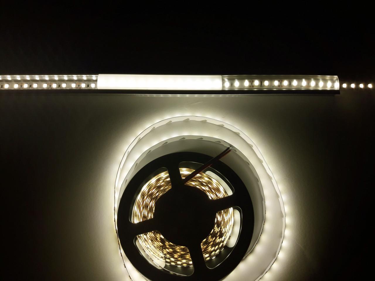 Светодиодная лента 3528-120 IP20 теплый белый