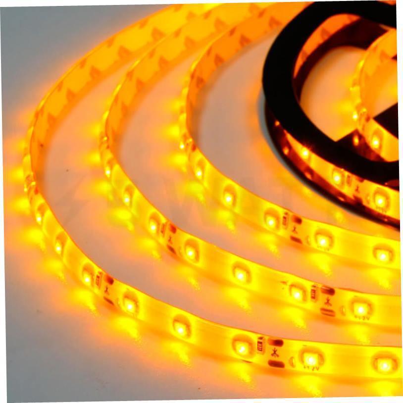 Светодиодная лента 3528-60 IP65 желтый