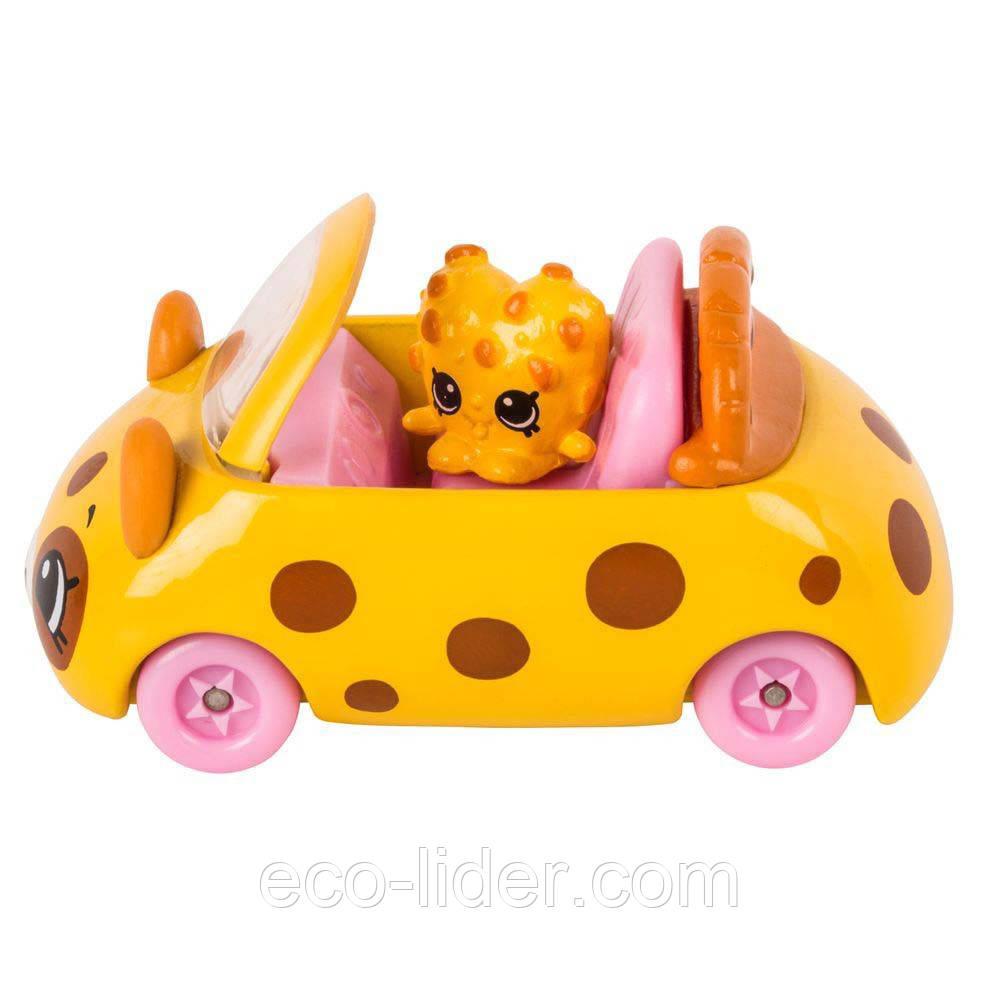Мини-машинка SHOPKINS CUTIE CARS S1 - ЧОКО-ГОНЩИК (с мини-шопкинсом)