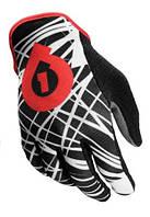 Перчатки 661 Red Wired длинный палец L красные