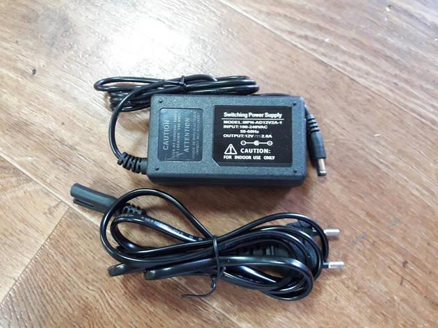 Блок питания (адаптер) 12V 24W-2А , фото 2