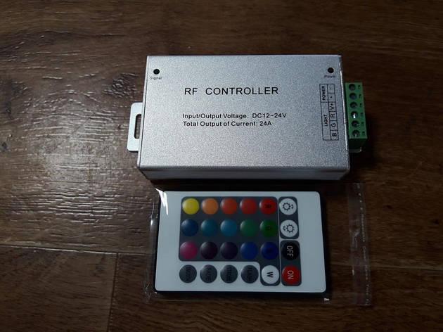Контроллер RGB OEM  24А-RF-24кнопки, фото 2