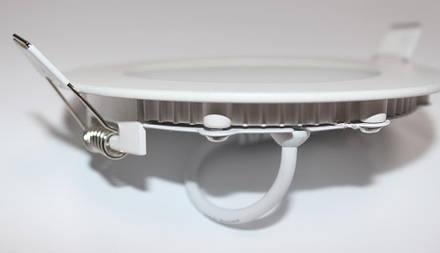 Светильник светодиодный PL-R12 12Вт круглый, фото 2