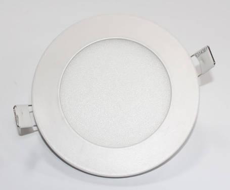 Светильник светодиодный PL-R18 18Вт круглый, фото 2