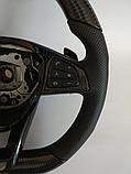 Руль карбоновый AMG на Mercedes S-Class W222 , фото 5