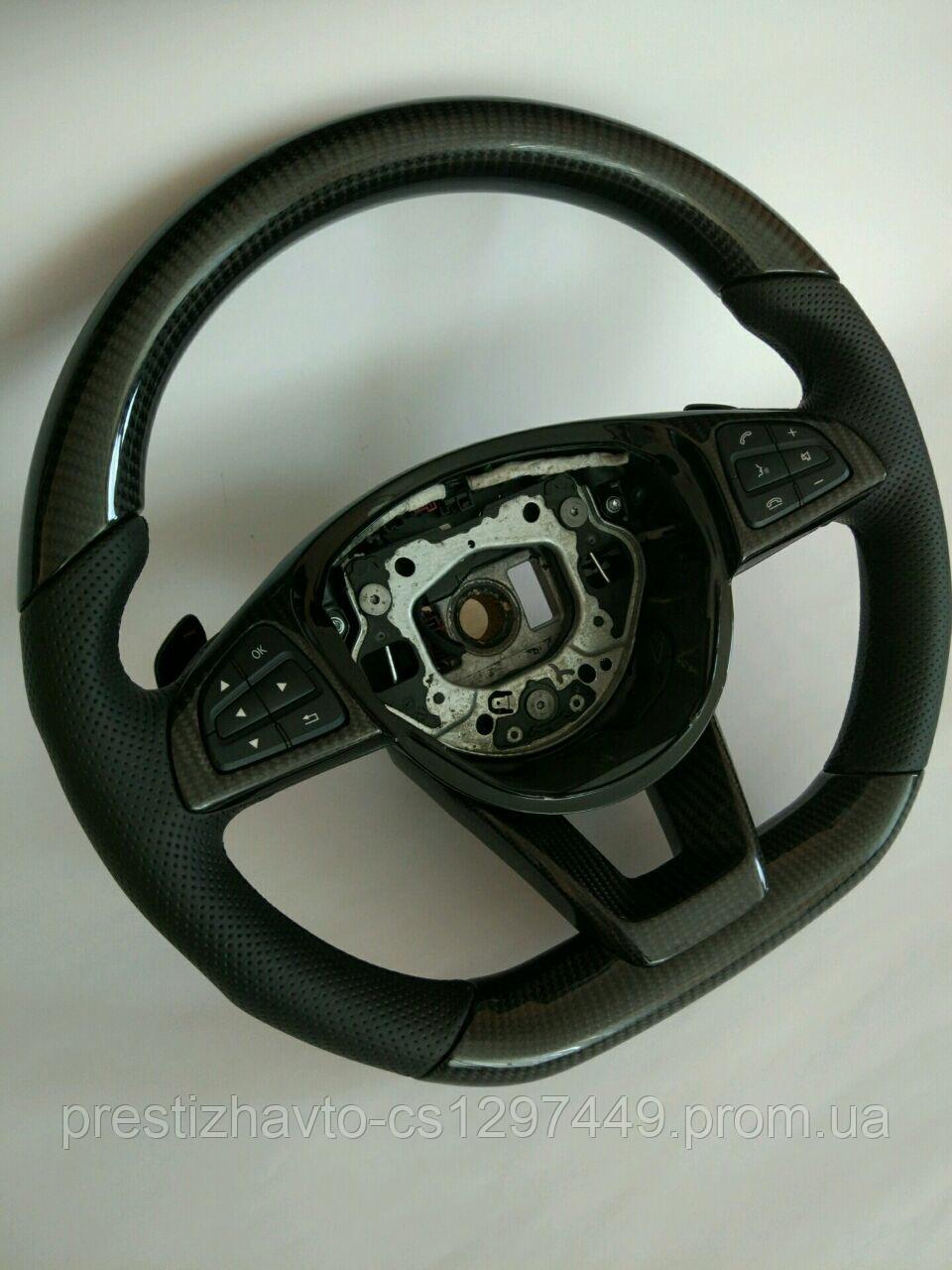 Руль карбоновый AMG на Mercedes S-Class W222