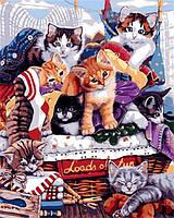 """Картина по номерам """"Озорные котята"""" набор для Рисования"""