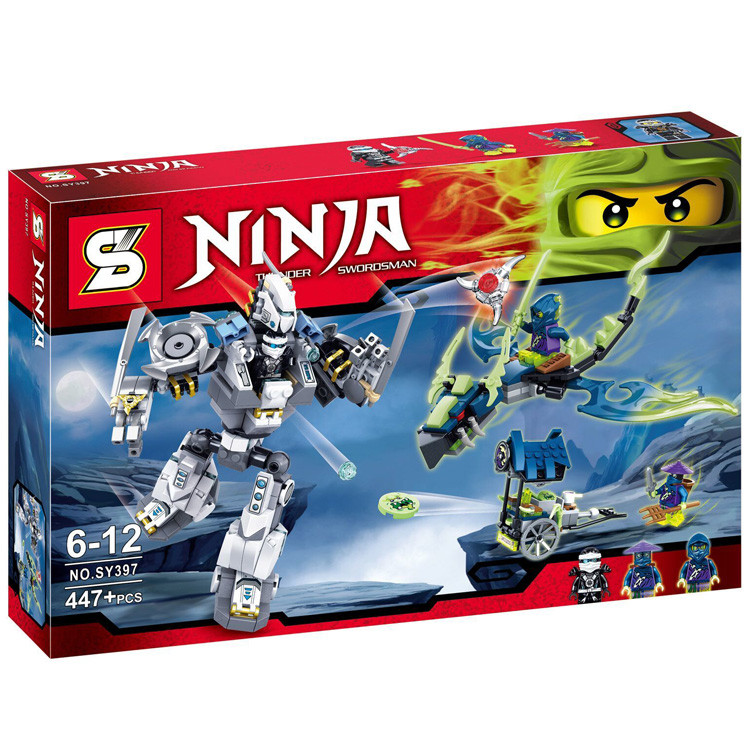 "Конструктор SENCO (аналог Lego Ninjago) ""Робот"" Sy397, 447 дет"