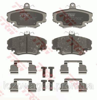 Колодки тормозные передние Logan REMSA 0141.20