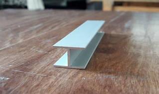 Двутавр алюминиевый 18х12х1 / анод серебро