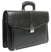 Мужской портфель из искусственной кожи JPB Польша TE-34-66458 чёрный