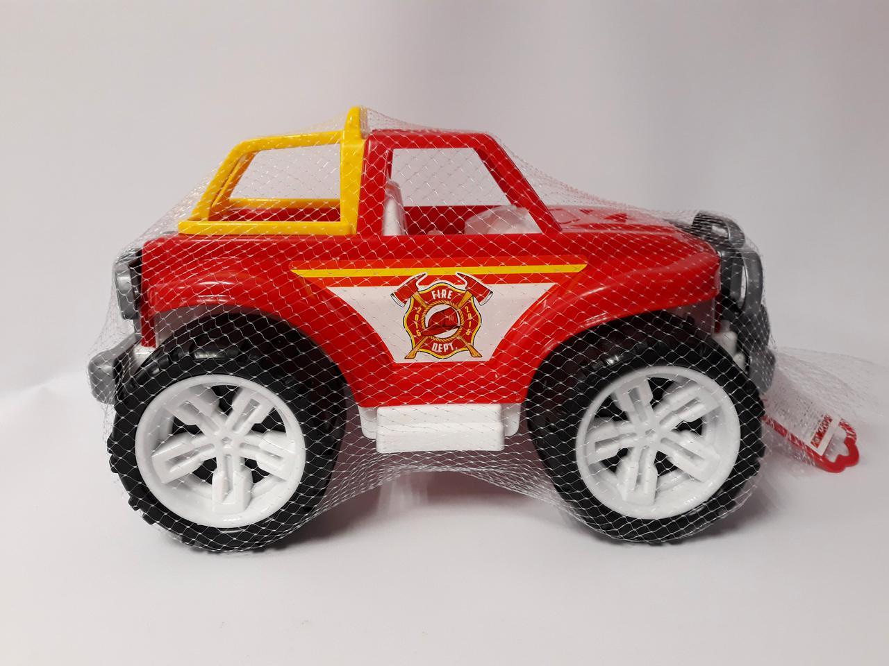 Машина пластмассовая Для малышей Внедорожник Пожарная служба 3541 Технокомп Украина