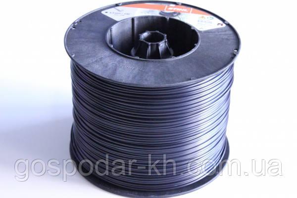 Косильная струна Ø3,3 мм x 236 м круглая черная Stihl