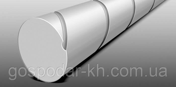Косильная струна Ø2,4 мм х 14,6 м круглая с углублением (малошумная) Stihl