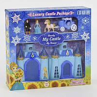 Замок для куклы музыкальный, со светом. Кукольный замок