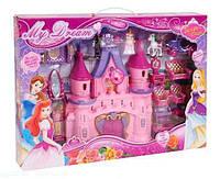 Замок Мечты для куклы SG 2971 музыка, свет, на батарейке. Кукольный замок