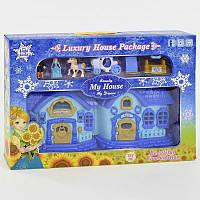 Сказочный домик книжка для куклы музыкальный, со светом. Кукольный дом игрушка для девочки