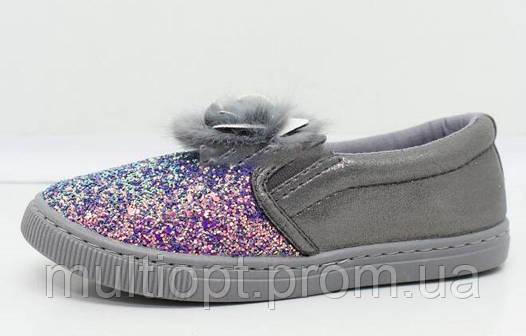 Туфли, слипоны детские оптом 30-35 из Польши, TL0137C-4
