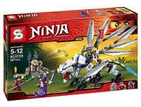 "Конструктор Ninja (аналог Lego Ninjago) SY338 ""Битва с Драконом"", 387 дет, фото 1"