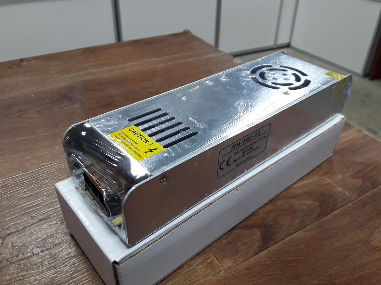 Блок питания 12V-360W-30А Slim