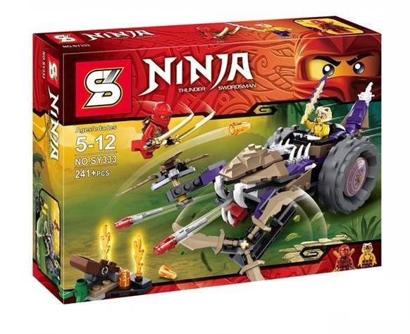 """Конструктор Ninja (аналог Lego Ninjago) SY333 """"Разрушитель"""", 241 дет"""