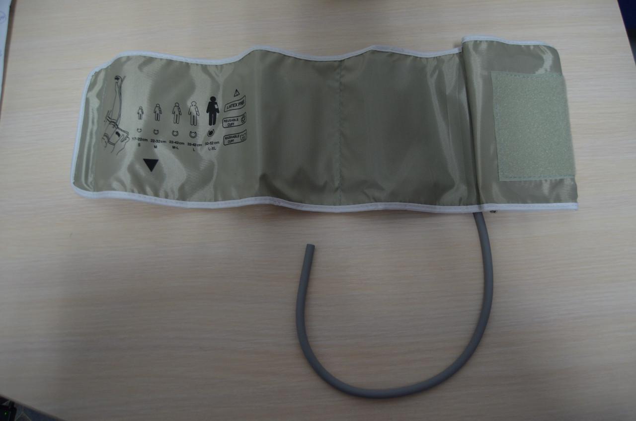 Манжета ЛЮКС 32-52 для электронного тонометра на плече большой размер увеличенная (1 трубка)