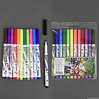 Фломастеры 958-12 / 555-725 (240) 12шт в упаковке, 12 цветов