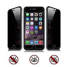 Защитное стекло ANTI SPY для iPhone 8 (с фильтром конфиденциальности) глянцевое