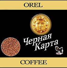 Растворимый кофе Черная Карта Gold весовой 1кг