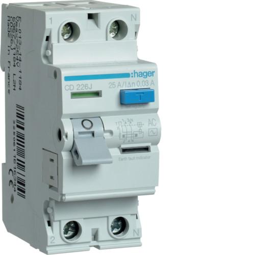 Устройства защитного отключения (УЗО) тип AC