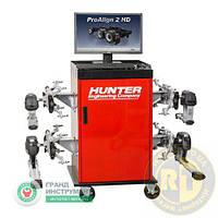 Стенд регулировки развал-схождение HUNTER для грузовых и автобусов HUNTER PA210E-DSP740T