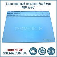 Коврик для пайки силиконовый термоковрик A-201 345мм x 245мм мат для разборки и пайки электроники