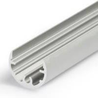 Алюминиевый профиль для светодиодной ленты D13mm , фото 1