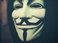 Маска Вендетта гай фокс V Vendetta Белая, фото 1