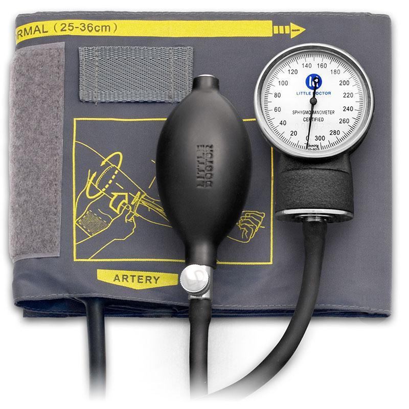 Механический тонометр LD-70NR без скобы и без стетоскопа литл доктор Little Doctor