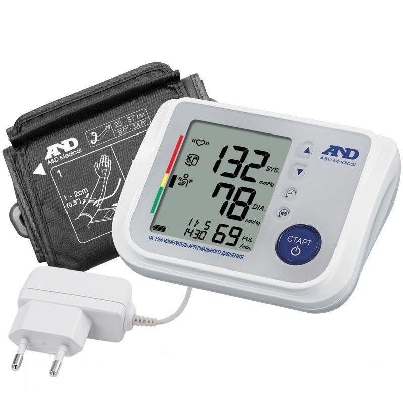 Тонометр автоматический для слабовидящих AND-1300  голосовой с адаптером