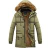 Мужская зимняя куртка с капюшоном. Модель 6116
