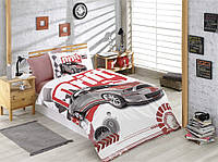 Комплект постельного белья 160х220 HOBBY Poplin Drift красный
