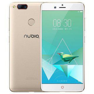 "Смартфон ZTE Nubia Z17 mini 4/64Gb Gold, 13+13/16Мп, 8 ядер, 2sim, экран 5.2"" IPS, 2950mAh, 4G"