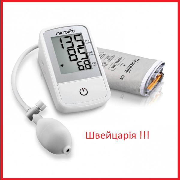 Полуавтоматический тонометр Microlife BP N2 Easy, Швейцария микролайф
