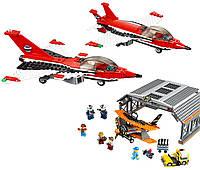 """Конструктор Lepin 02007, """"Авиашоу в Аэропорту"""" (City), 723 детали, аналог Lego 60103"""