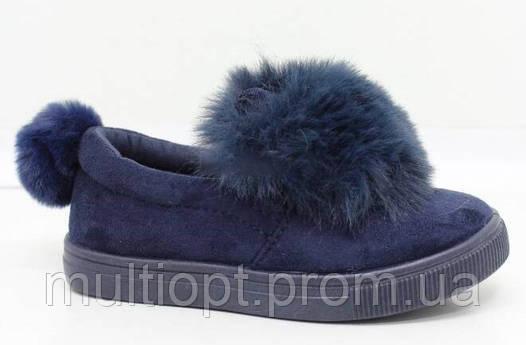 Туфли, слипоны детские оптом 24-29 и 30-35 из Польши,TL100K-2