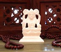 Статуэтка белый мрамор Лакшми