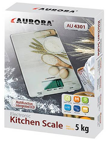 Весы кухонные Aurora AU-4301, фото 2