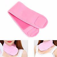 Гелевый увлажняющий воротник (Gel Spa Gloves), Розовый