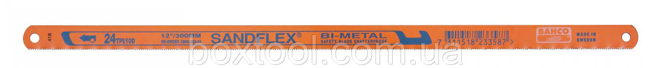 Полотно по металлу 300 мм Bahco 1300-18-100